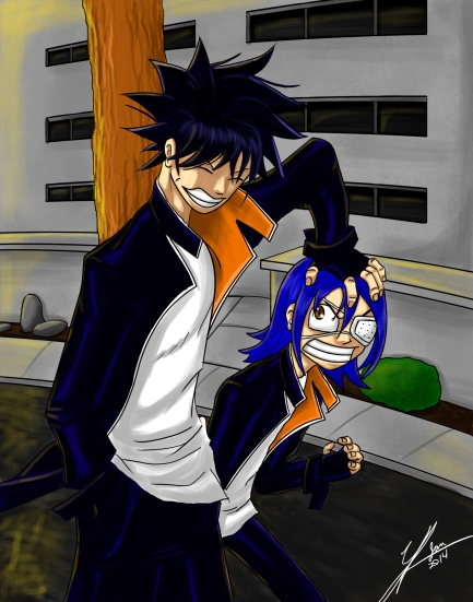 Air Gear Agito and Ikki