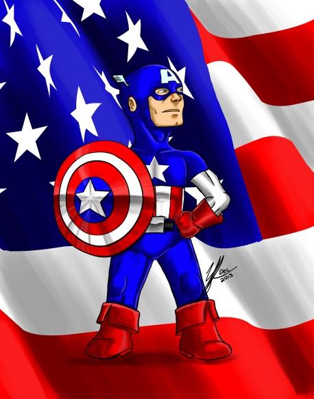 Captain Americachibi
