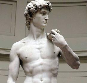 AP ITALY DAVID RESTORED I ITA