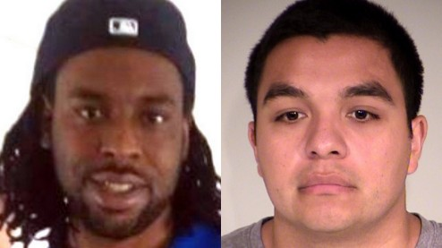 Philando Castile, left, and Jeronimo Yanez